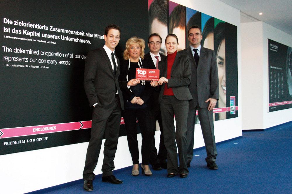 Top Arbeitgeber 2012 | Friedhelm Loh Group